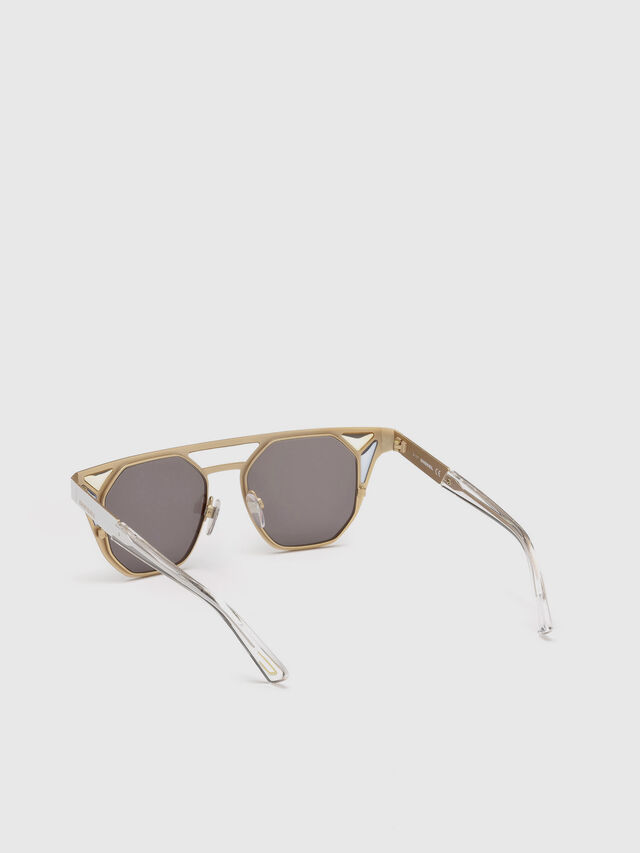 Diesel - DL0249, White - Sunglasses - Image 2