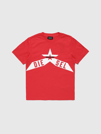 Diesel - TDIEGOA7, Red - T-shirts and Tops - Image 1