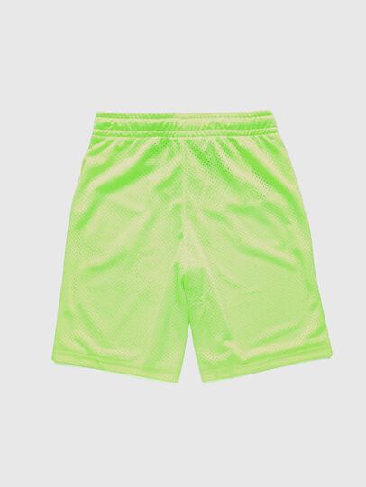 Diesel - PFRAKLE, Green Fluo - Shorts - Image 2