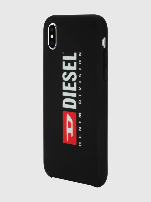 Diesel - DIESEL PRINTED CO-MOLD CASE FOR IPHONE XS MAX, Black/White - Cases - Image 5