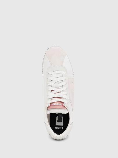 Diesel - S-PYAVE WEDGE, White/Pink - Sneakers - Image 5