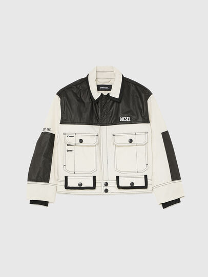 Diesel - JKENDY, White/Black - Jackets - Image 1