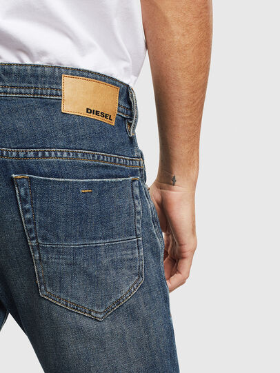Diesel - Thommer 0095M, Dark Blue - Jeans - Image 4