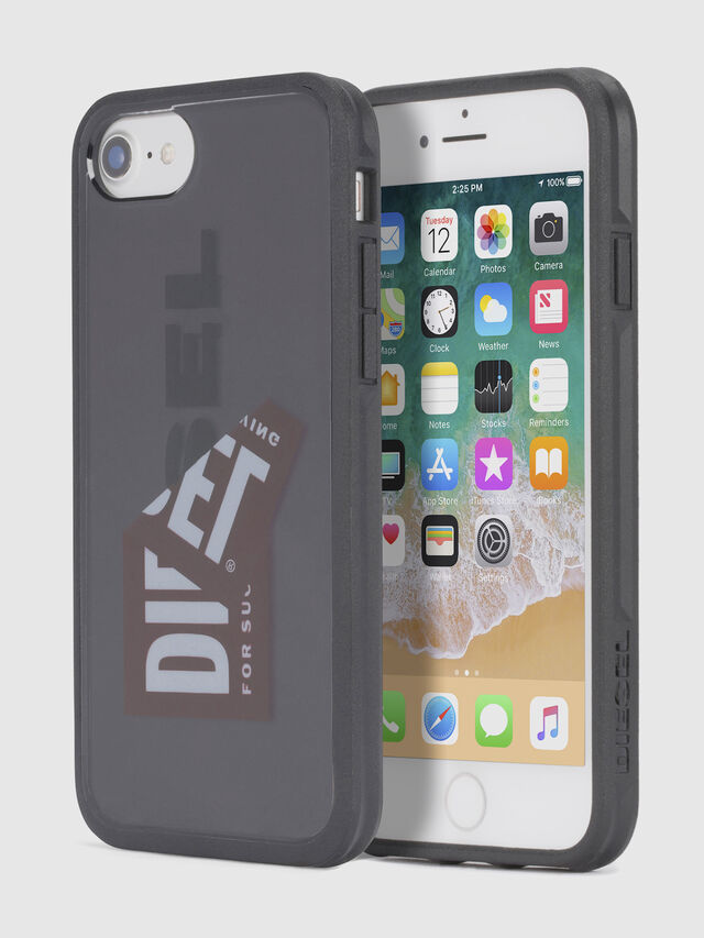 Diesel - STICKER IPHONE 8 PLUS/7 PLUS/6s PLUS/6 PLUS CASE, Black - Cases - Image 1