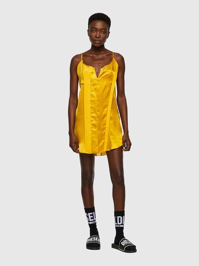 Diesel - D-BIANCA, Yellow - Dresses - Image 1