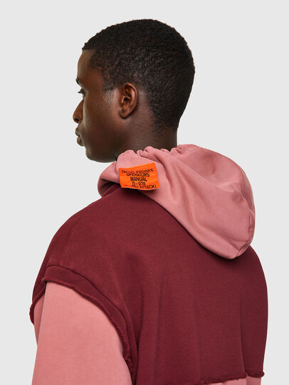 Diesel - S-CRAZY-B1, Red/Pink - Sweaters - Image 3