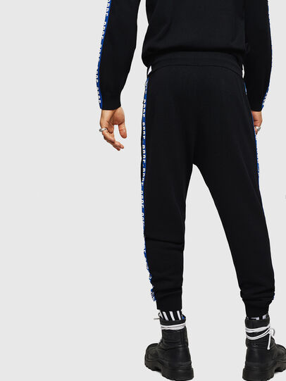 Diesel - K-SUIT-B, Black/Blue - Pants - Image 2
