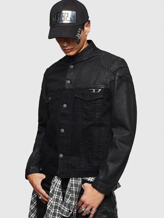 D-DANY, Black/Dark grey - Denim Jackets