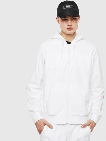 Diesel - S-DIEX, White - Sweaters - Image 1