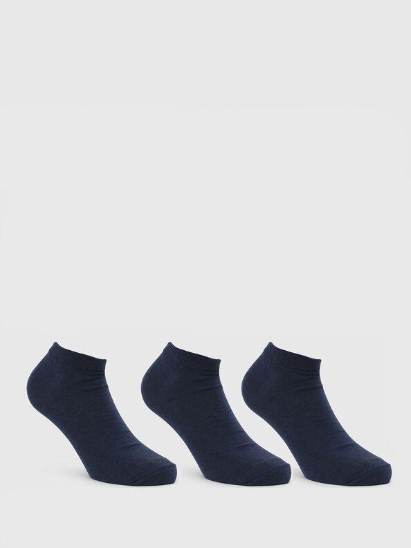 SKM-GOST-THREEPACK, Blue - Low-cut socks