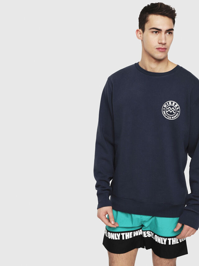 Diesel - BMOWT-JUSTINY-B-O, Navy Blue - Out of water - Image 1