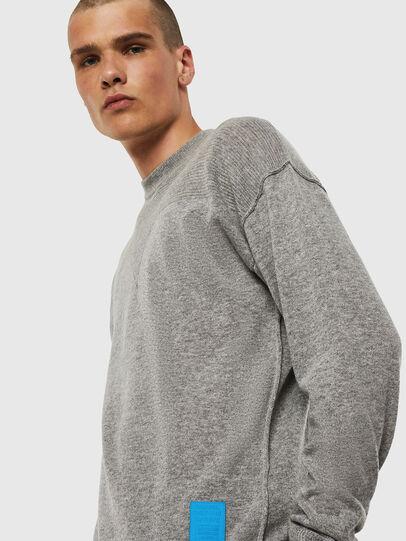 Diesel - K-LETO, Grey - Knitwear - Image 4