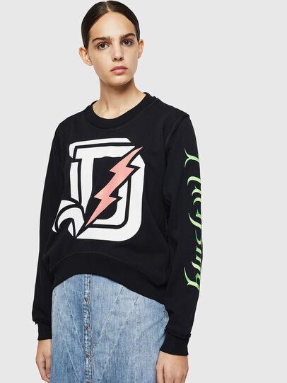 Diesel - F-LYANYDY-A, Black - Sweaters - Image 1