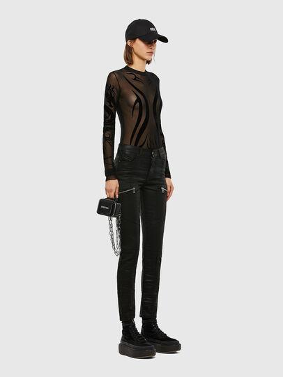 Diesel - D-Ollies JoggJeans® 069RK, Black/Dark grey - Jeans - Image 7