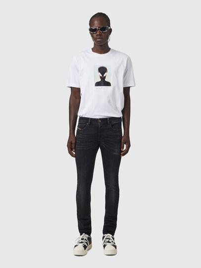 Diesel - Sleenker 09A89, Black/Dark grey - Jeans - Image 5