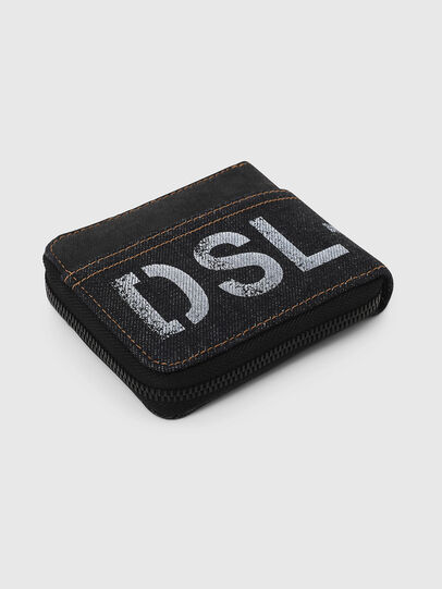 Diesel - ZIPPY HIRESH S, Dark Blue - Zip-Round Wallets - Image 5