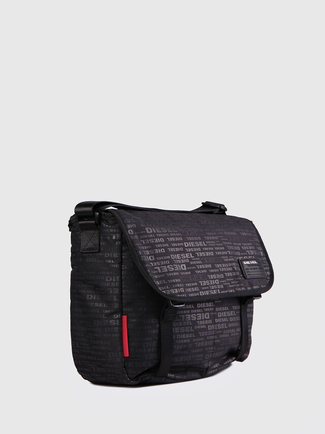F-DISCOVER MESSENGER, Black/Red