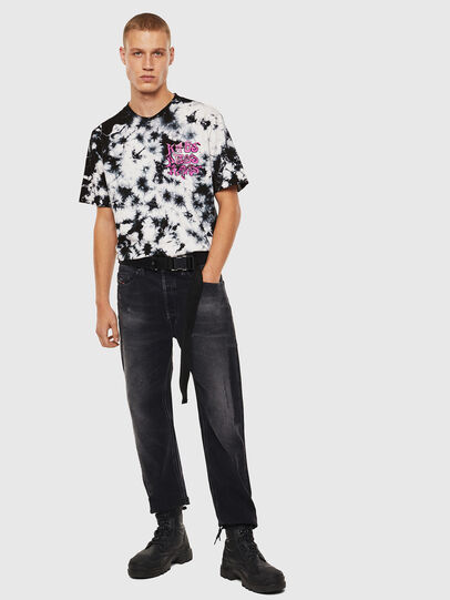 Diesel - T-JUST-J23, Black/White - T-Shirts - Image 8