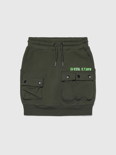 Diesel - GKIFTY, Military Green - Skirts - Image 1