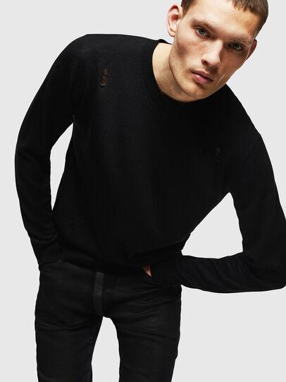 Diesel - K-PLUG, Black - Knitwear - Image 4