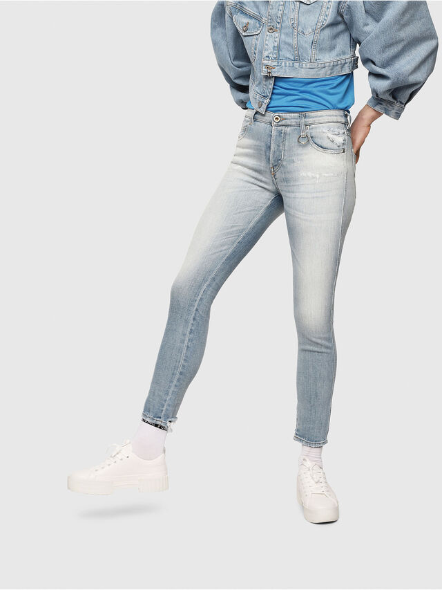 Diesel - Babhila 081AJ, Light Blue - Jeans - Image 1