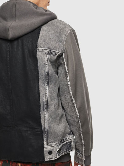 Diesel - D-LOSTY, Black - Denim Jackets - Image 5