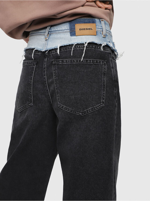Diesel - Widee 088AB, Black/Dark grey - Jeans - Image 4