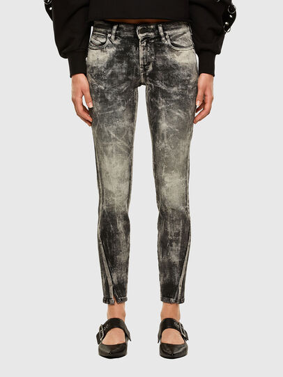 Diesel - D-Jevel 009FG, Light Grey - Jeans - Image 1
