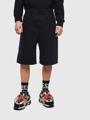 D-BRON, Black/Dark grey - Shorts