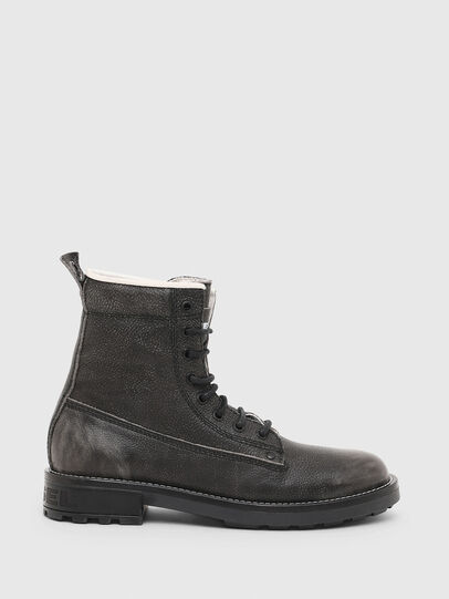 Diesel - D-THROUPER DBB W, Dark grey - Ankle Boots - Image 1