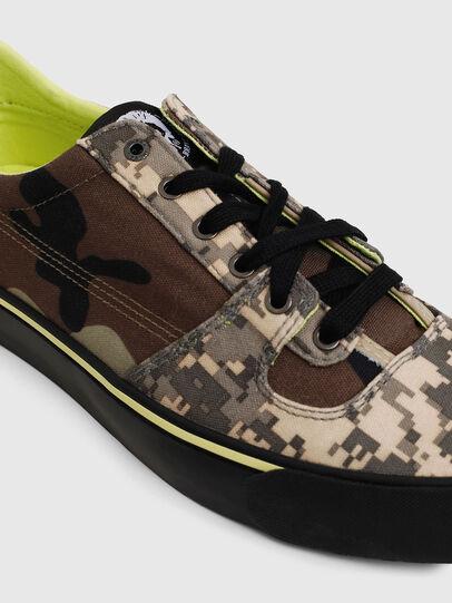 Diesel - S-FLIP LOW, Marron Military - Sneakers - Image 4