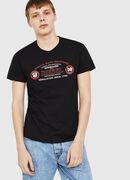 T-DIEGO-C4, Black - T-Shirts