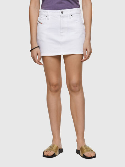 Diesel - DE-EISY, White - Skirts - Image 1