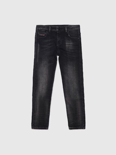 Diesel - D-SLANDY-HIGH-J JOGGJEANS, Black/Dark grey - Jeans - Image 1