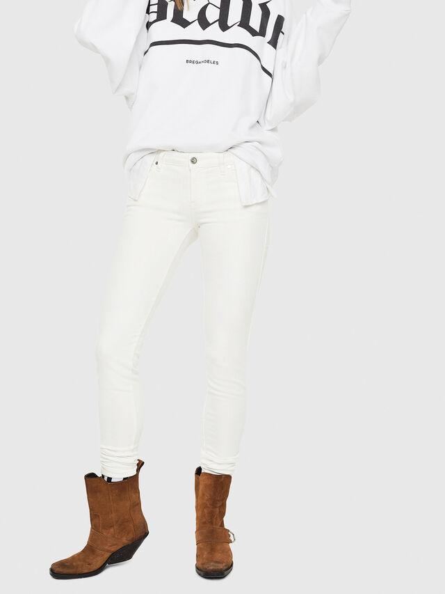 Diesel - Gracey JoggJeans 088AZ, White - Jeans - Image 1