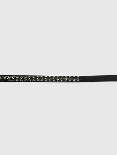 Diesel - B-MINISTUD, Black - Belts - Image 3
