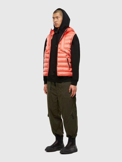 Diesel - W-DWAIN-SL, Pink - Winter Jackets - Image 4