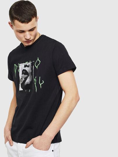 Diesel - T-DIEGO-S12, Black - T-Shirts - Image 1