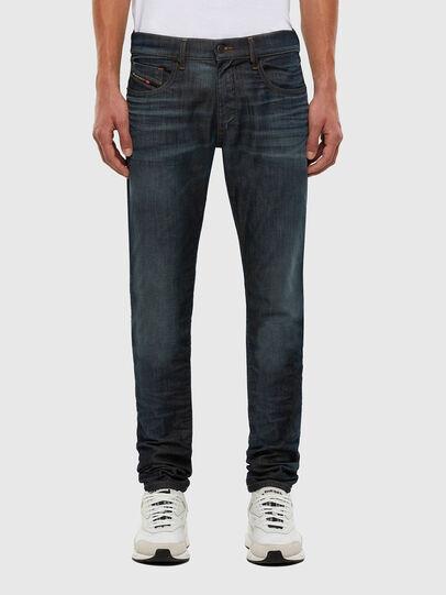 Diesel - D-Strukt JoggJeans 009KJ, Dark Blue - Jeans - Image 1