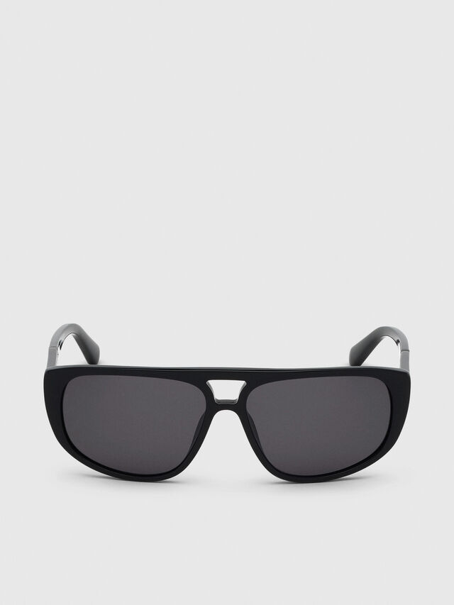 Diesel - DL0300, Black - Sunglasses - Image 1