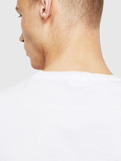 Diesel - T-JUST-T26, White - T-Shirts - Image 4
