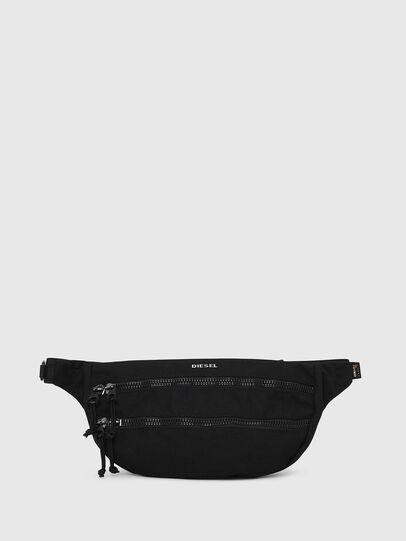 Diesel - F-URBHANITY BUMBAG, Black - Belt bags - Image 1