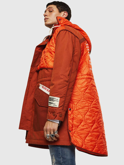 Diesel - W-KOVIK, Orange - Winter Jackets - Image 6