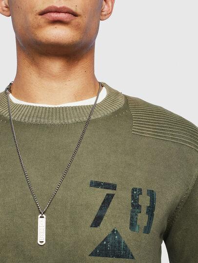 Diesel - K-PACHY, Military Green - Knitwear - Image 3