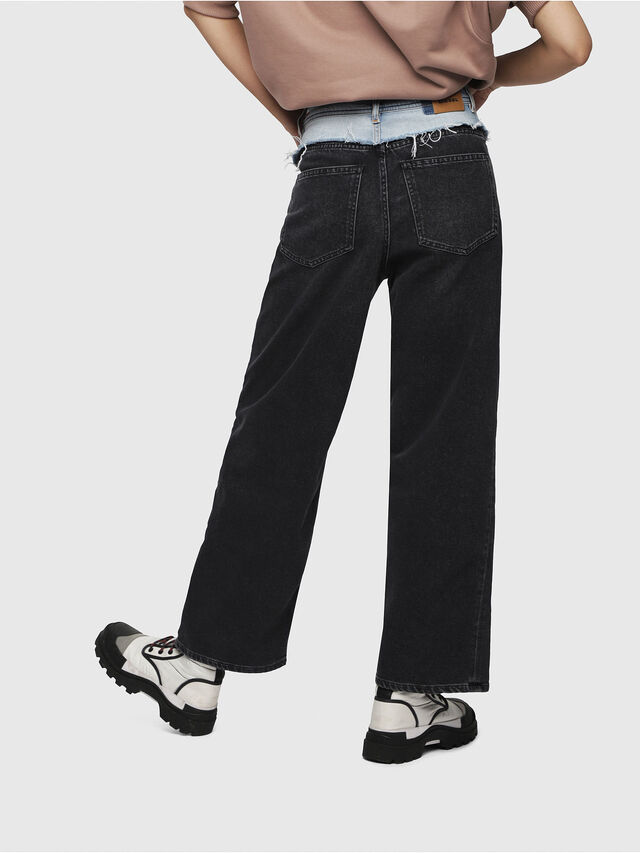 Diesel - Widee 088AB, Black/Dark grey - Jeans - Image 2