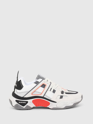 S-KIPPER LOW TREK II, White - Sneakers