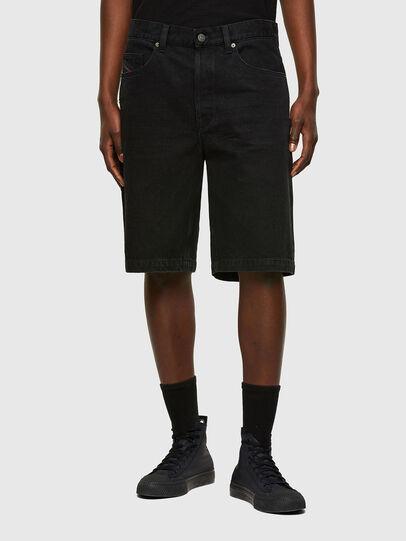 Diesel - D-MACS-SHORT, Black - Shorts - Image 1
