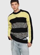 K-DANIEL, Black/Yellow - Knitwear