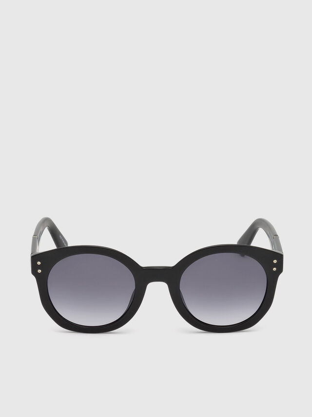 Diesel - DL0252, Black - Sunglasses - Image 1