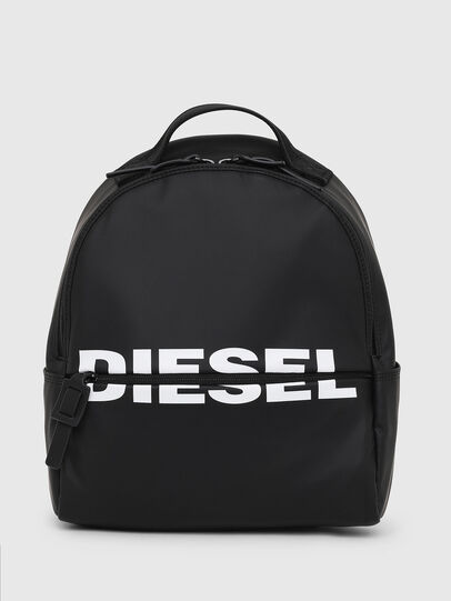 Diesel - F-BOLD BACK FL, Bright Black - Backpacks - Image 1